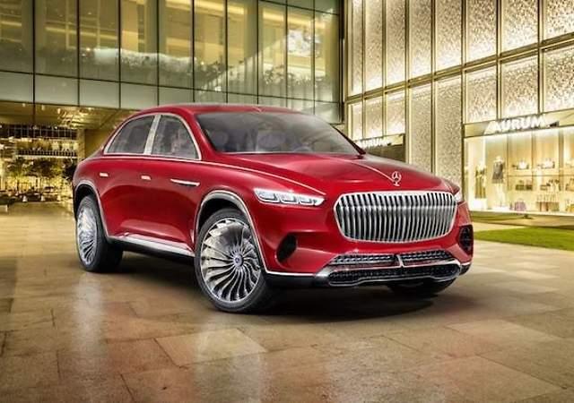 Vision Mercedes-Maybach Ultimate Luxury: nueva forma de SUV