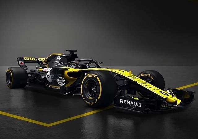 Renault RS18: así es el nuevo monoplaza de Carlos Sainz