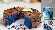 El azul se come