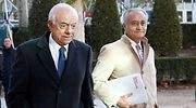 Francisco Gonzlez junto a su abogado