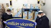 Millán Vicente dona más de 1.500 kilos de queso para ayudar a superar la crisis de la Covid-19