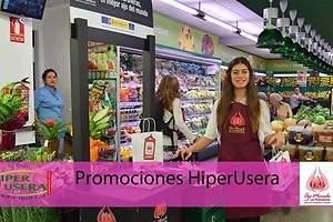 El Ajo Morado de Las Pedroñeras se promociona en supermercados HiperUsera de Madrid