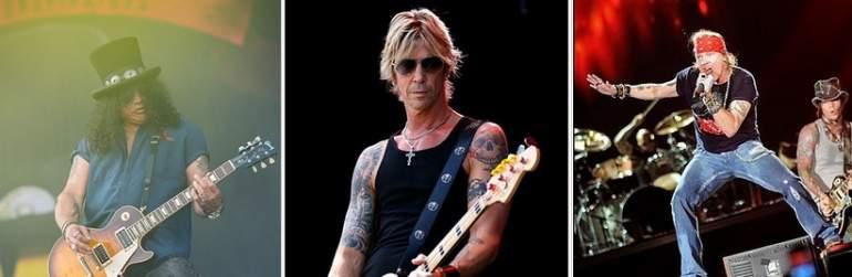 Guns NRoses ofrecerá dos conciertos en España en 2017