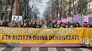 Las huelgas disparan un 253% las jornadas no trabajadas en Euskadi