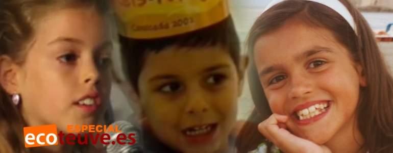 Día de Reyes: los concursantes de OT también fueron niños antes de estrellas