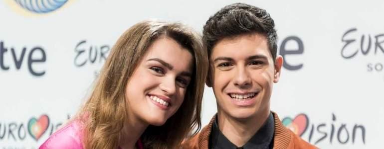 Tengo miedo a decepcionar en Eurovisión pero ir con Alfred me da mucha seguridad