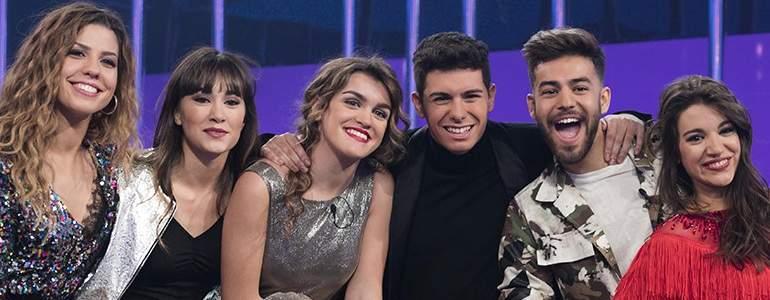 La batalla por ir a Eurovisión se decide esta noche en OT: Almaia contra Aitana War