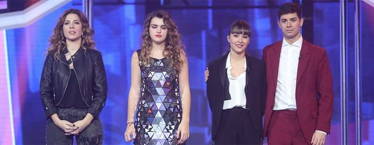 Amaia de España, Miriam, Alfred y Aitana son los primeros cuatro finalistas de OT