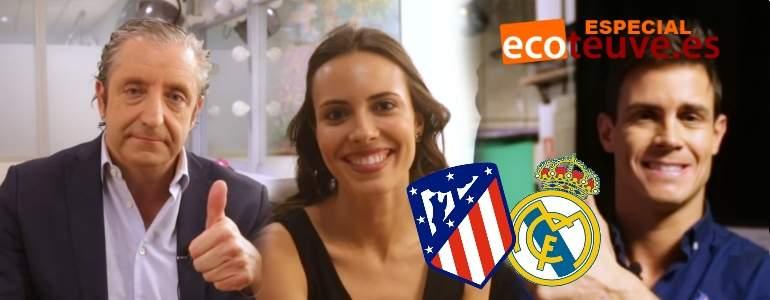 Atlético-R.Madrid: Pedrerol y el equipo de El Chiringuito se mojan en la porra del derbi