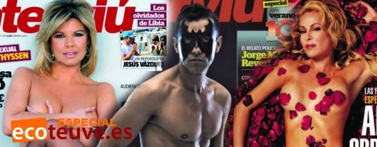 Cierra la revista Interviú: las 10 portadas más icónicas de sus 40 años de historia
