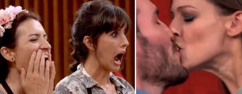 Silvia Abril vuelve, Pepón se va y Craviotto planta un beso de película a Eva González