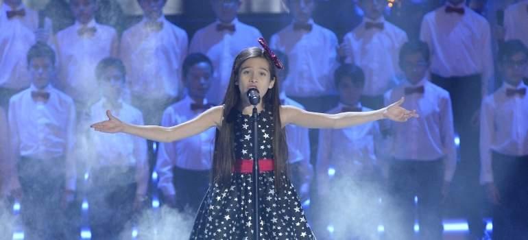 Melani se convierte en la ganadora más joven de La Voz Kids con su angelical lírica