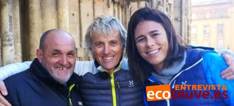 Edurne Pasabán y Juanito Oiarzabal, la historia de un reencuentro gracias a Calleja