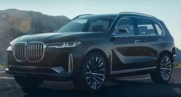 BMW Concept X7 iPerformance: un gigante híbrido