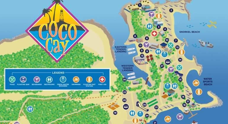 Royal Caribbean levanta su propia isla: así es CocoCay