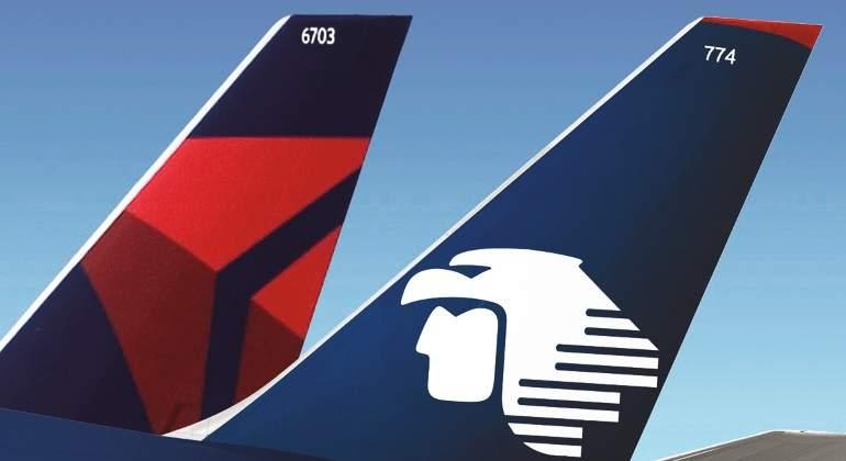 Aeroméxico y Delta acuerdan operar vuelos México-EU