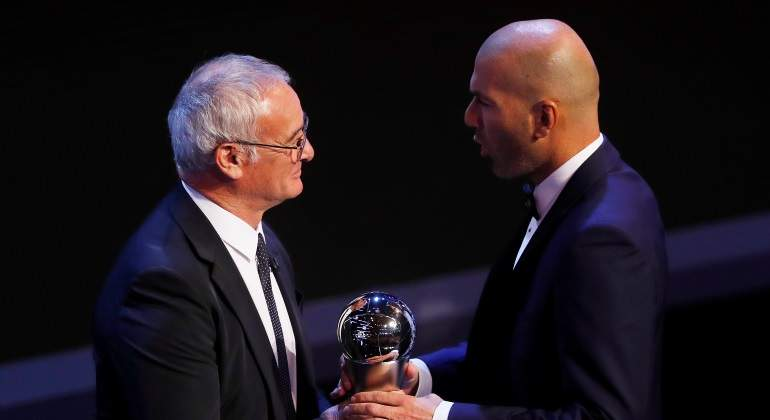 Zidane consigue el The Best 2017