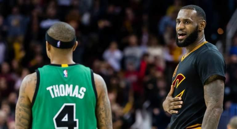 En el inicio, Cavs sorprende a Celtics