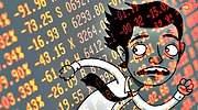 <center>Los inversores vuelven a pagar por refugiarse en la renta fija: la deuda en negativo se dispara por el miedo</center>