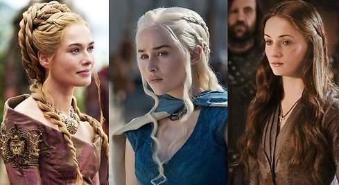 Consigue el peinado de las protagonistas de Juego de Tronos