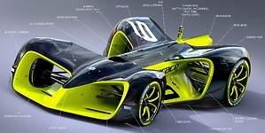 El debut de Roborace, la competición de coches autónomos, acaba en accidente