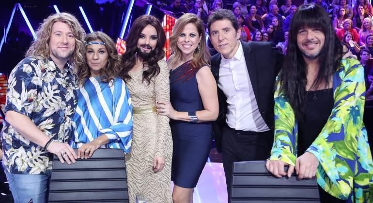 Chenoa será Conchita Wurst y Ángel Llàcer Loreen en el especial EurovisiÓn de TCMS