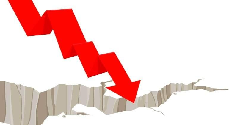 terremoto-mercado-caida-baja-flecha-getty.jpg