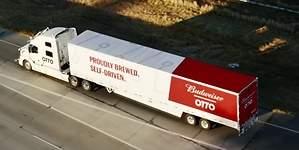 50.000 cervezas, el primer envío con los camiones autónomos de Uber