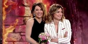Barneda y Nagore Robles ensayan su boda en el plató de Telecinco