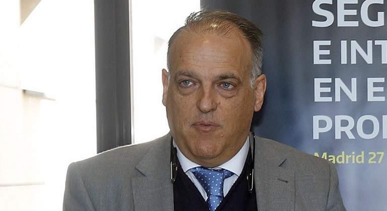 Javier Tebas reprende a Gerard Piqué