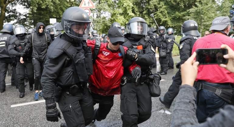 Disturbios en Hamburgo en víspera de la cumbre del G-20