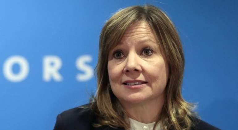 La presidenta y directora general de General Motors Mary Barra