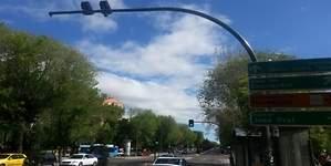 Los nuevos semáforos foto-rojo de Madrid comenzarán a multar el lunes