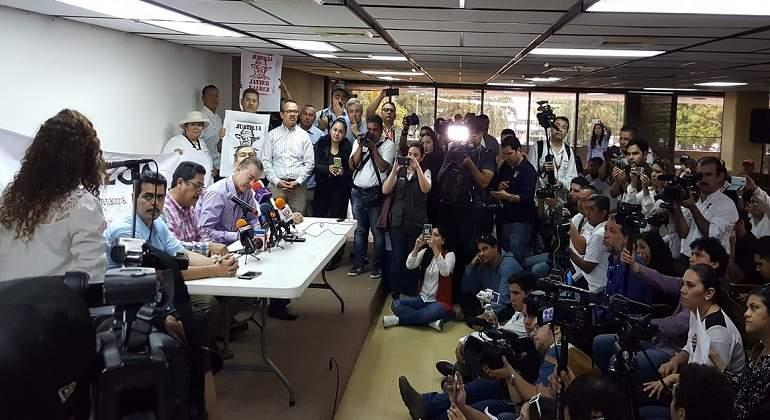 Reporteros de Morelos protestan por asesinato de periodistas