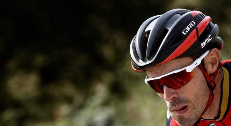 El ciclista Samuel Sánchez da positivo en un control antidopaje
