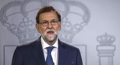 Rajoy pide cesar al Ejecutivo catalán