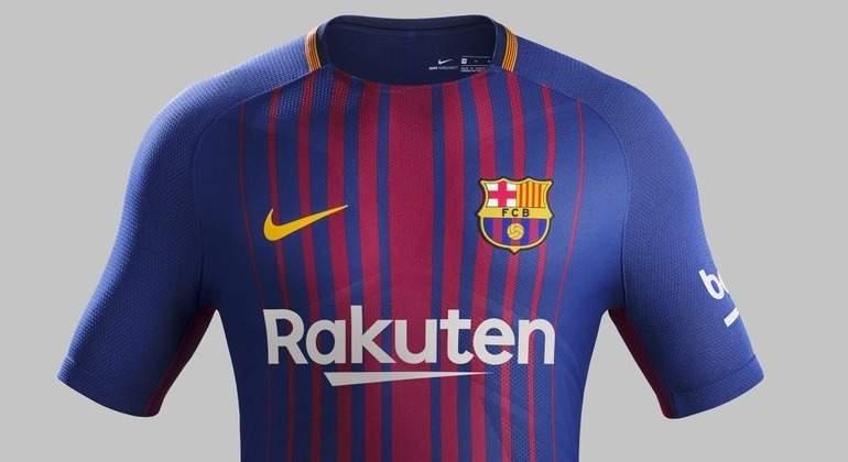 El Barcelona Hace Oficial Su Nueva Camiseta Para La