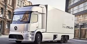 Mercedes desvela el Urban e-Truck: el primer camión 100% eléctrico