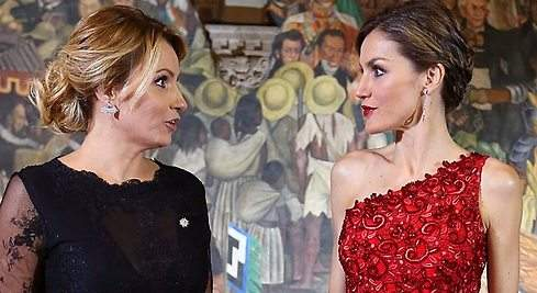Los otros encuentros de Letizia y Angélica Rivera