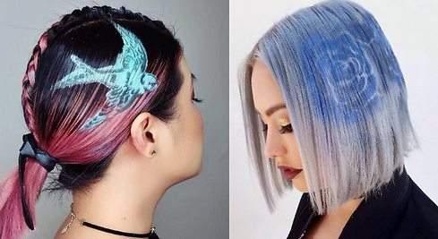Hair Stencil: la moda de este verano para tatuar tu pelo