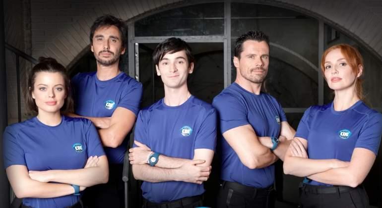 Arranca el operativo de Cuerpo de élite: la serie de Antena 3 inicia su rodaje en Málaga