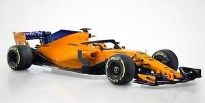 McLaren MCL33: así es el nuevo monoplaza vintage de Fernando Alonso para 2018