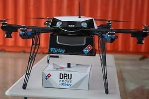 Dominos entrega pizzas con dron