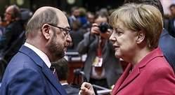 El SPD vota a favor de negociar una nueva coalición