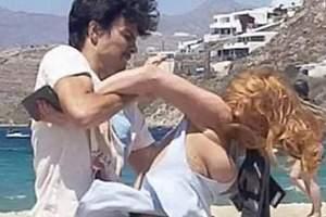 Lindsay Lohan pelea con su novio