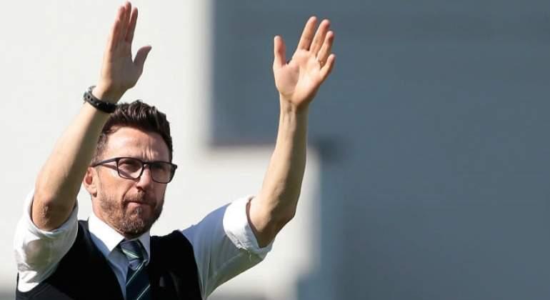 El Roma apuesta por Eusebio Di Francesco como nuevo técnico