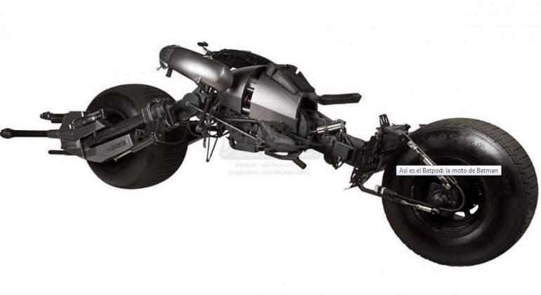 La M 237 Tica Moto De Batman Sale A Subasta Ecomotor Es