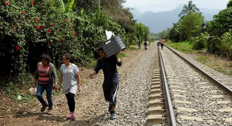 Ayuda de voluntarios, la mano invisible de Las Patronas