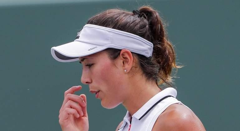 Muguruza se retira ante Wozniacki por problemas físicos