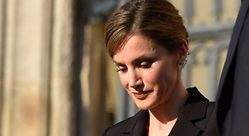 La Reina no ha estado en el minuto de silencio de la plaza de Cataluña